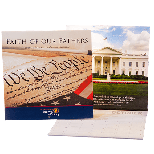 Faith Of Our Father's 2016-2017 15-Month Calendar