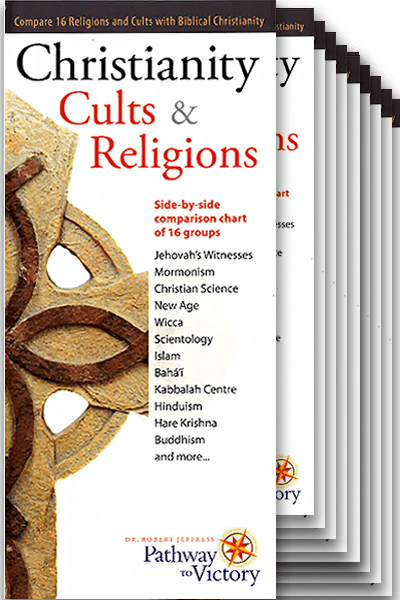 Christianity, Cults and Religions brochure – 10-pack