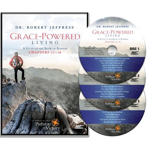 Grace-Powered Living Ch. 12-16 CD Set