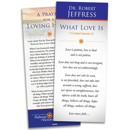 what love is encouragement card from dr robert jeffress v2