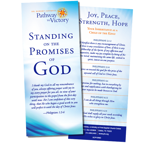 Standing on the Promises of God from Dr  Robert Jeffress V1