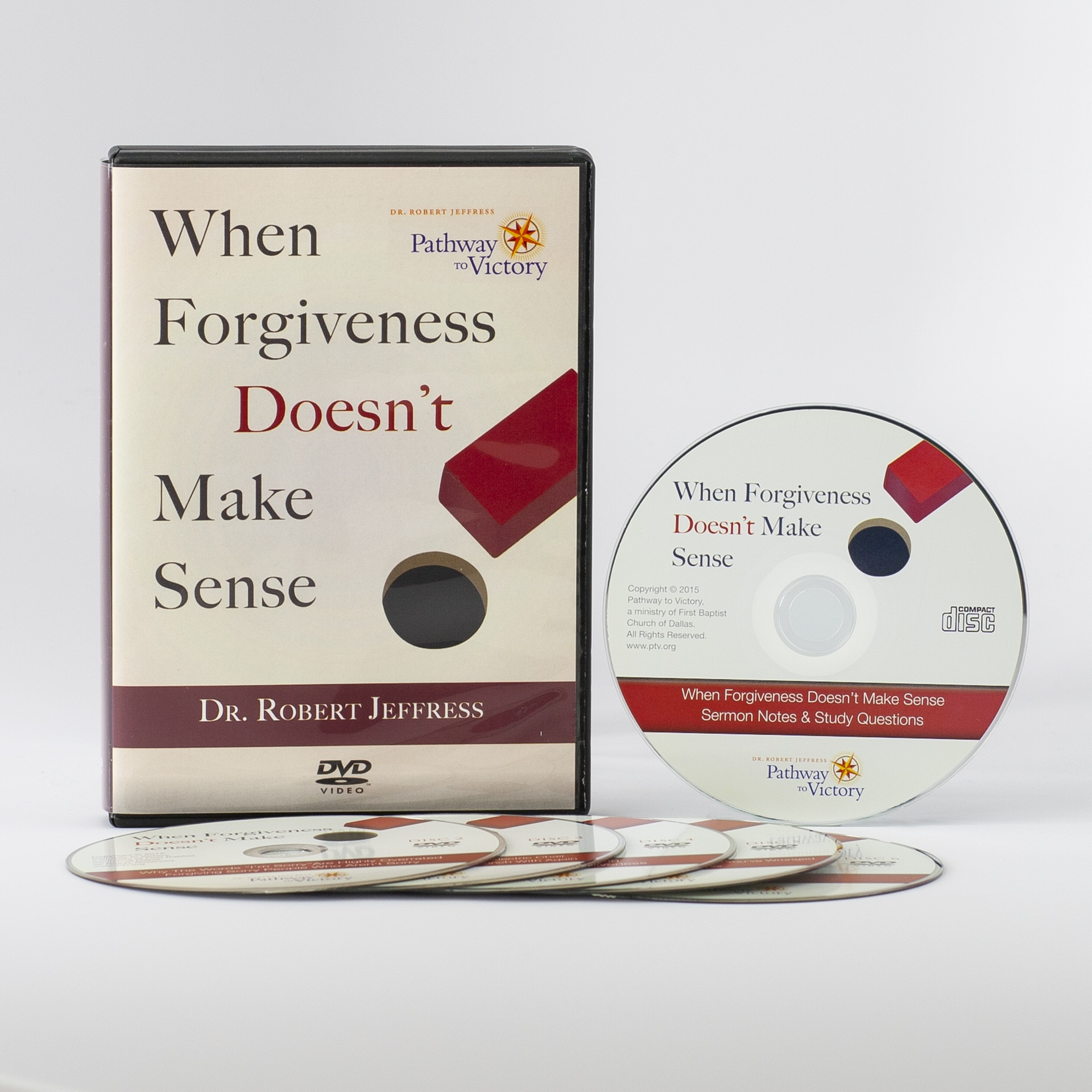 When Forgiveness Doesn't Make Sense DVD set and Sermon Notes CD